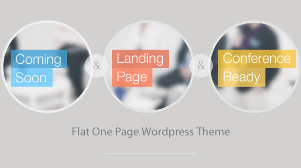 Infine - OnePage Conference & Event WP Theme