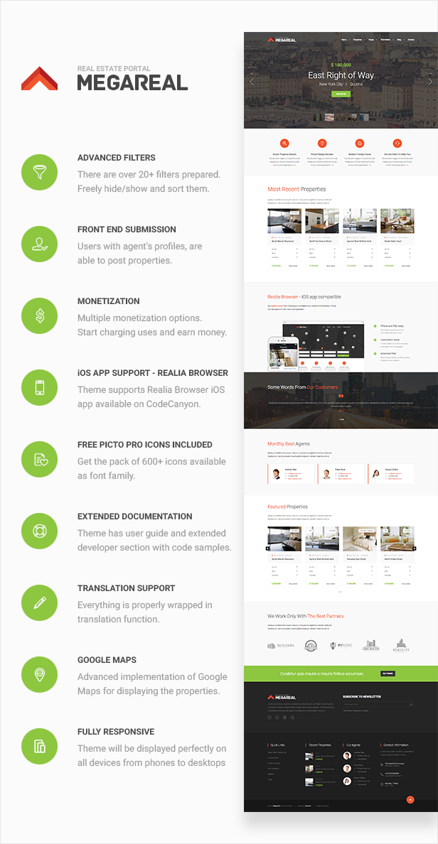 Megareal - Real Estate Portal Theme