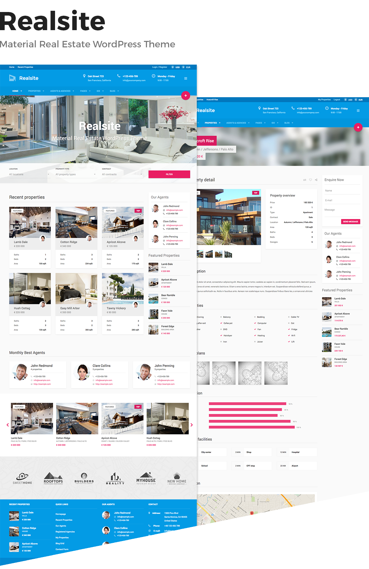 realsite real estate wordpress theme