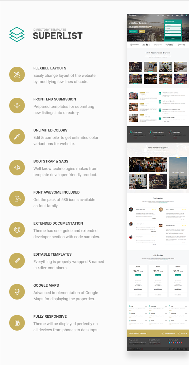 Superlist - Directory Template