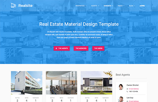 Real Estate HTML Template | Realsite